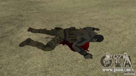 Ghost pour GTA San Andreas sixième écran