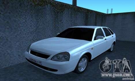 Lada Priora Hatchback pour GTA San Andreas