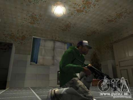 Pak inländischen Waffen V2 für GTA San Andreas