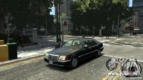 Mercedes-Benz 600SEL wheel2 non-tinted pour GTA 4