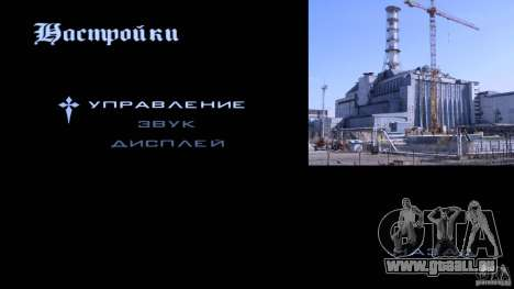 Écrans de chargement Chernobyl pour GTA San Andreas quatrième écran
