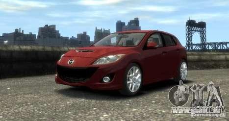 Mazda Speed 3 2010 pour GTA 4