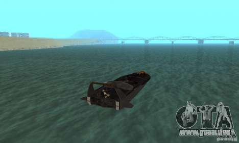 Human Viper pour GTA San Andreas laissé vue