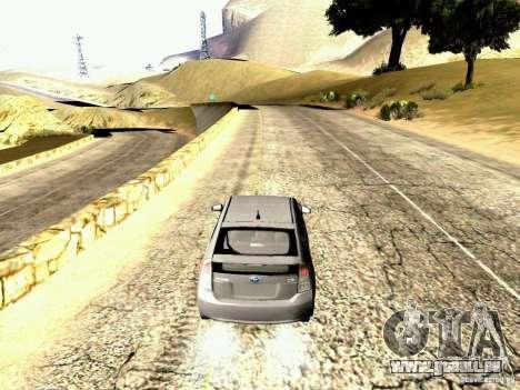 Toyota Prius Hybrid 2011 für GTA San Andreas rechten Ansicht