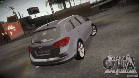 Opel Astra 2010 pour GTA San Andreas vue de côté