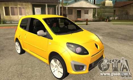 Renault Twingo RS 2009 pour GTA San Andreas vue arrière