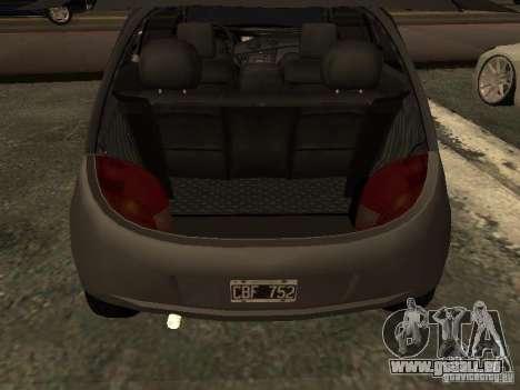 Ford Ka 1998 pour GTA San Andreas vue arrière