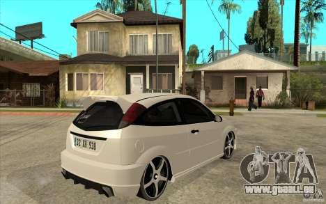 Ford Focus Coupe Tuning für GTA San Andreas rechten Ansicht
