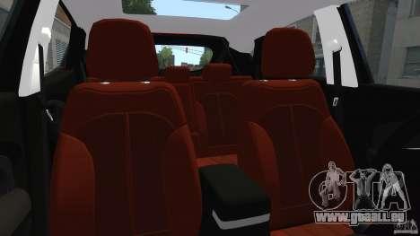 Hyundai Santa Fe Sport 2013 für GTA 4 Innenansicht