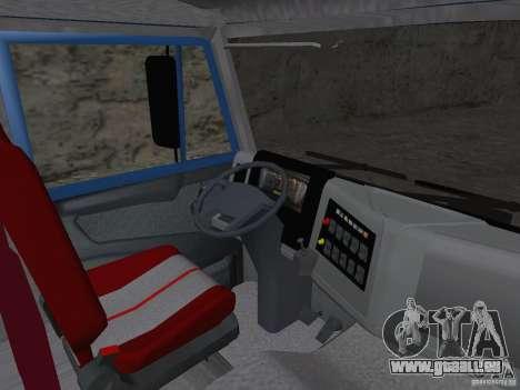 KAMAZ 65222 für GTA San Andreas Rückansicht