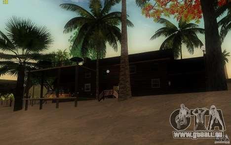 New Country Villa pour GTA San Andreas troisième écran