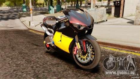 Ducati Desmosedici RR 2012 für GTA 4 linke Ansicht