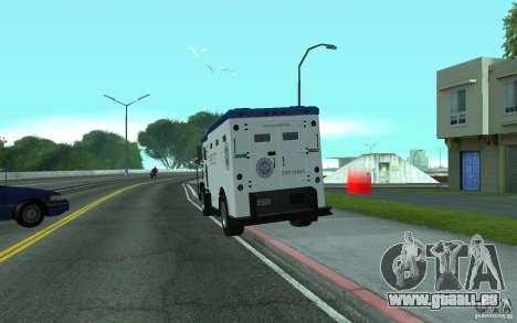 Securicar de GTA IV pour GTA San Andreas laissé vue
