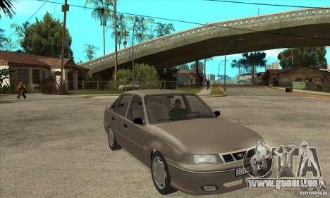 Daewoo Nexia Dohc 2009 pour GTA San Andreas vue arrière