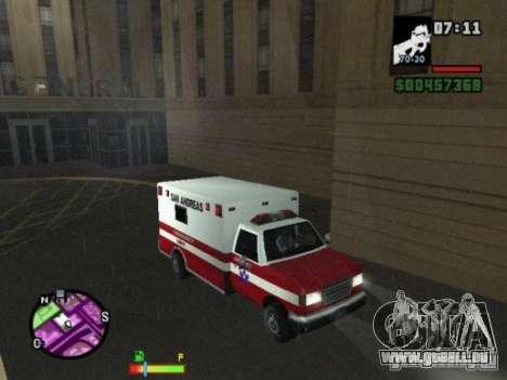 Auto-Repair pour GTA San Andreas deuxième écran