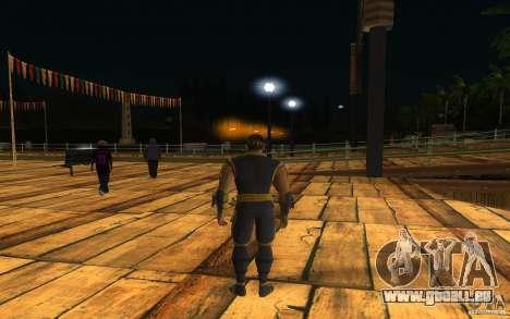 Cyrax de Mortal kombat 9 pour GTA San Andreas deuxième écran