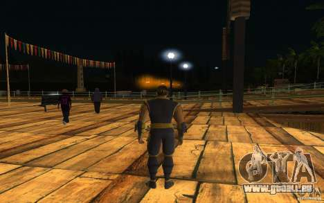 Cyrax aus Mortal Kombat 9 für GTA San Andreas zweiten Screenshot