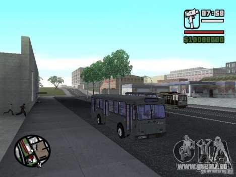 FBW Hess 91U für GTA San Andreas zurück linke Ansicht