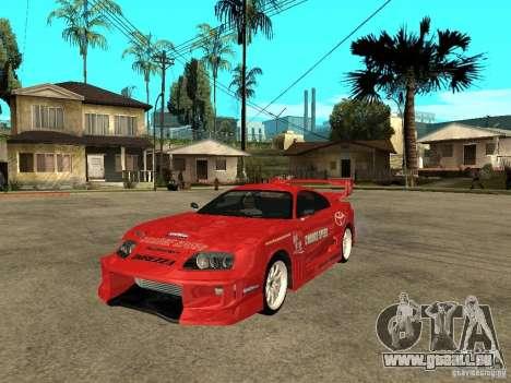Toyota Supra Chargespeed für GTA San Andreas