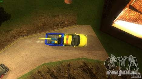 Toyota Avanza Towtruck für GTA San Andreas rechten Ansicht