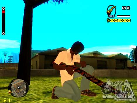 Tiger wepon pack für GTA San Andreas zweiten Screenshot
