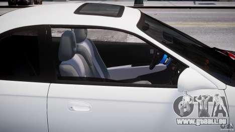 Honda Civic Si 1999 JDM [EPM] pour GTA 4 est une vue de dessous