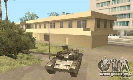 T-90 A pour GTA San Andreas vue intérieure