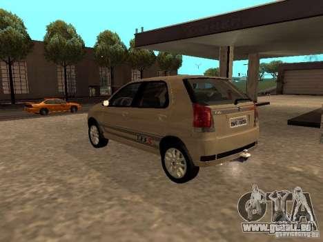 Fiat Palio 1.8R für GTA San Andreas linke Ansicht