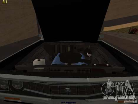 Chrysler New Yorker Police 1971 pour GTA San Andreas vue de droite