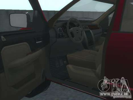 Dodge Ram 1500 v2 für GTA San Andreas Rückansicht