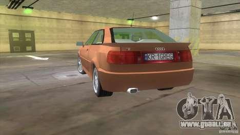 Audi S2 für GTA Vice City linke Ansicht