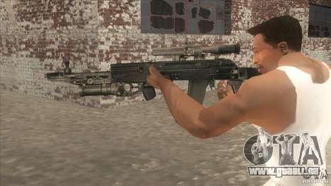 AK-47-v2 für GTA San Andreas zweiten Screenshot