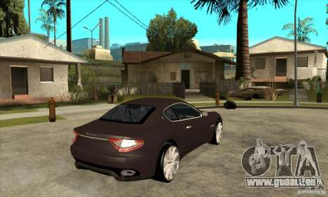 Maserati Gran Turismo pour GTA San Andreas vue de droite