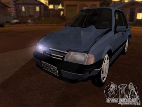 Chevrolet Monza GLS 1996 für GTA San Andreas Innenansicht