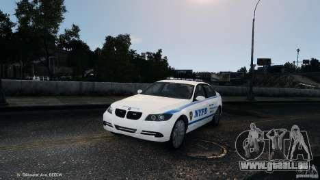 NYPD BMW 350i pour GTA 4