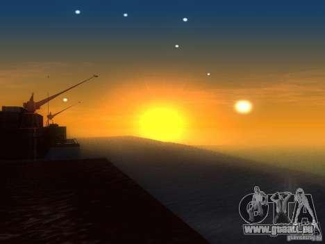 Eau HQ pour GTA San Andreas quatrième écran