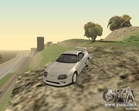 Toyota Supra 3.0 24V pour GTA San Andreas laissé vue