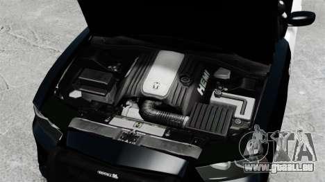 Dodge Charger 2013 Police Code 3 RX2700 v1.1 ELS pour GTA 4 est une vue de l'intérieur