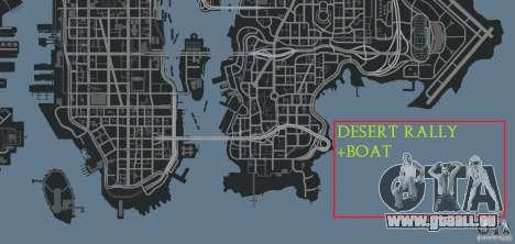 Desert Rally+Boat für GTA 4 siebten Screenshot