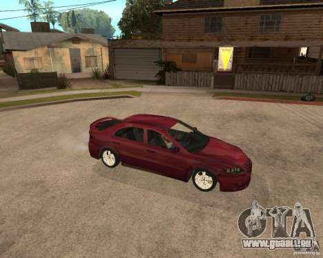 Mazda 6 Sport pour GTA San Andreas vue arrière