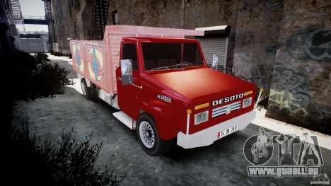Desoto Ad250 für GTA 4 Rückansicht