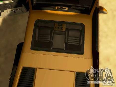 Pontiac Fiero V8 pour GTA San Andreas vue de côté