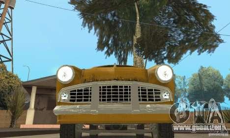 Moskvitch 407 1958 pour GTA San Andreas roue