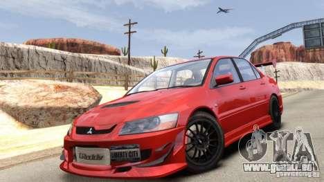 Mitsubishi Lancer Evolution VIII MR für GTA 4