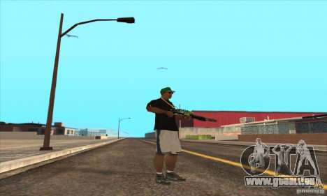 WEAPON BY SWORD pour GTA San Andreas