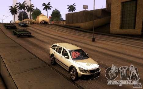 Skoda Octavia Scout für GTA San Andreas
