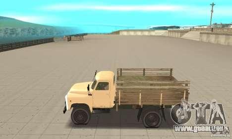 Gaz-52 pour GTA San Andreas laissé vue