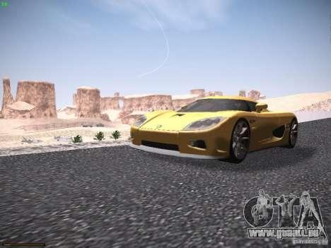 LiberrtySun Graphics ENB v3.0 pour GTA San Andreas cinquième écran