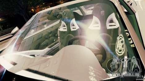 Porsche Carrera GT pour GTA 4 est une vue de dessous
