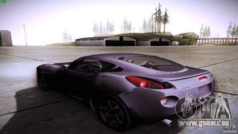 Pontiac Solstice für GTA San Andreas zurück linke Ansicht